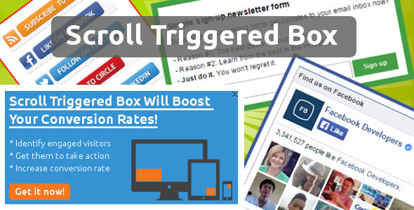 Scroll Triggered Box for Drupal - CodeCanyon Item for Sale