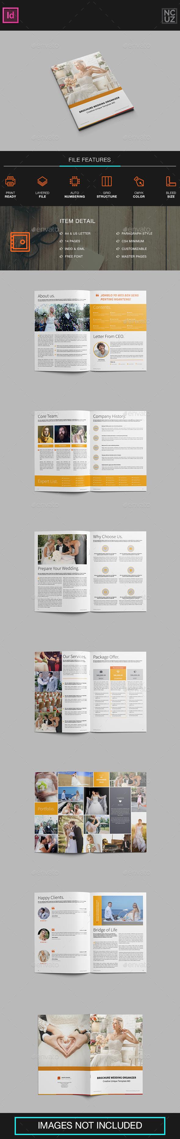 Brochure Wedding Organizer - Corporate Brochures