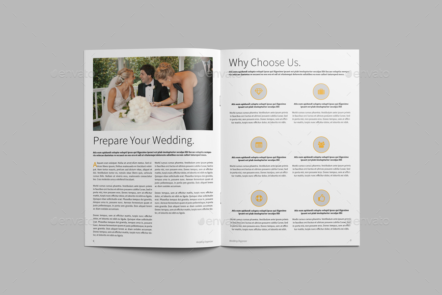 wedding organizer website