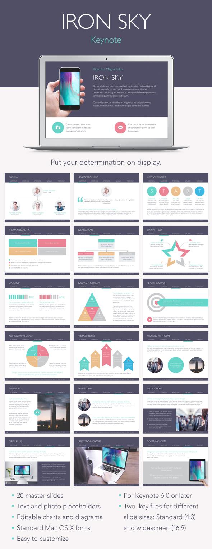 Iron Sky Keynote Template - Keynote Templates Presentation Templates