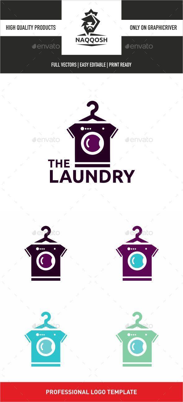 The Laundry - Symbols Logo Templates