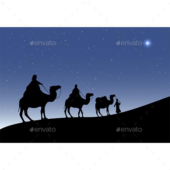 Christmas Star - Religion Conceptual