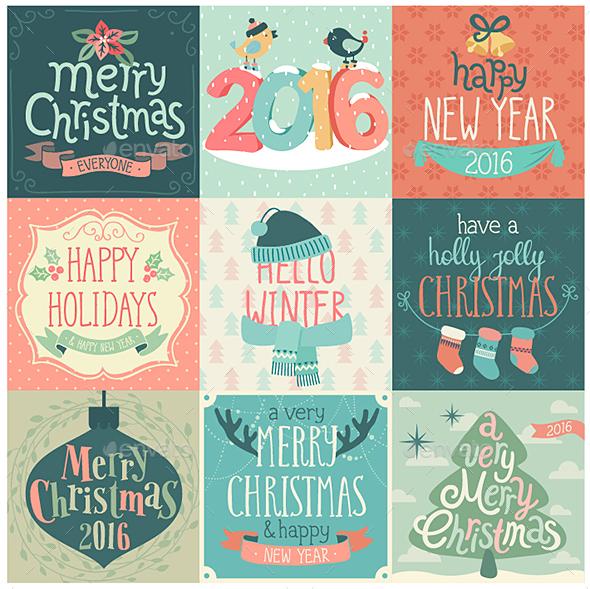 Christmas Set.  - Christmas Seasons/Holidays
