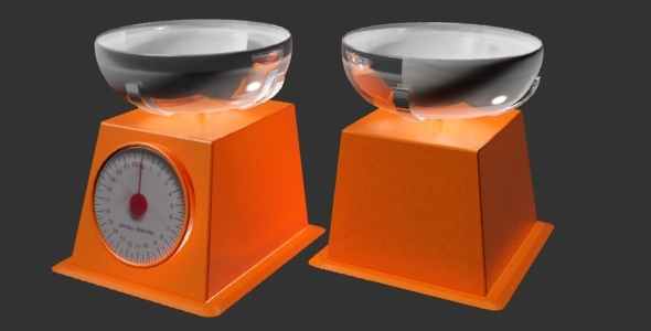 Weigher - 3DOcean Item for Sale