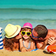 Happy Family Having Fun At The Beach - VideoHive Item for Sale