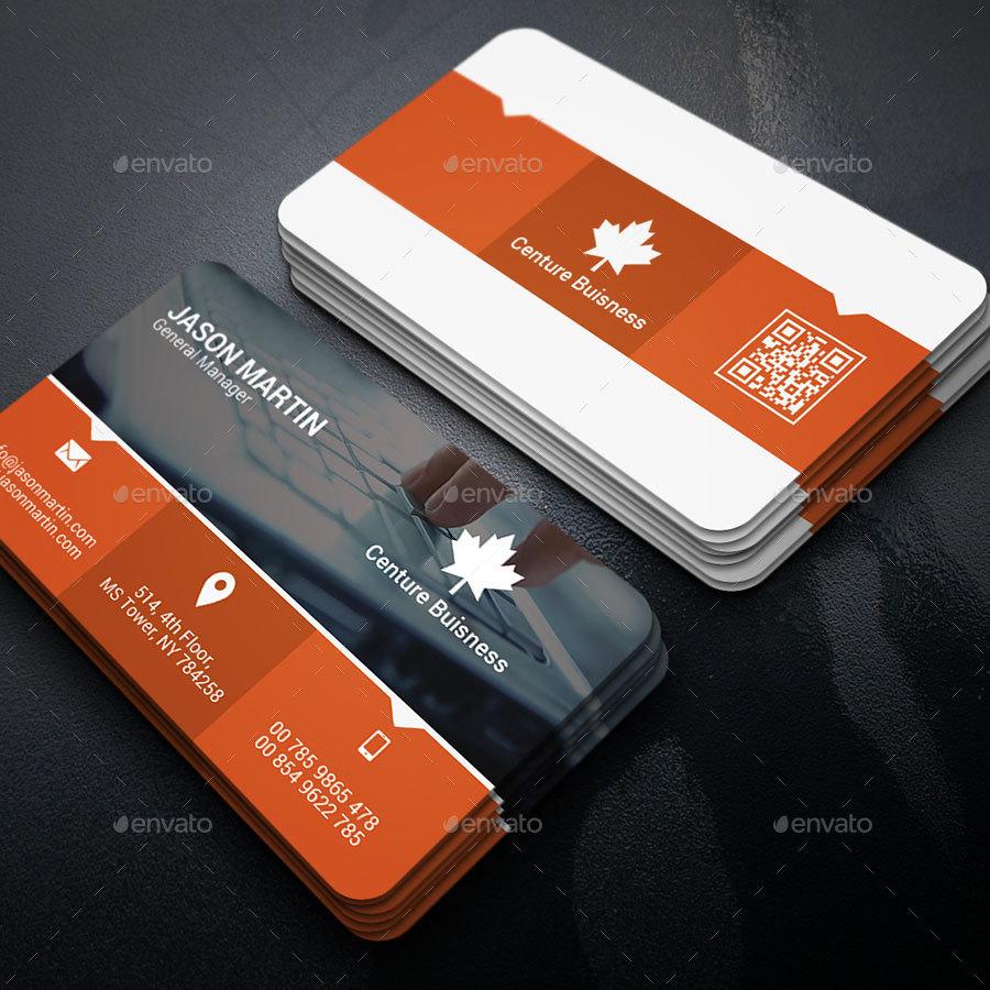 Modern Business Card Template-02