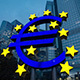 Euro Symbol Frankfurt Germany Evening - VideoHive Item for Sale
