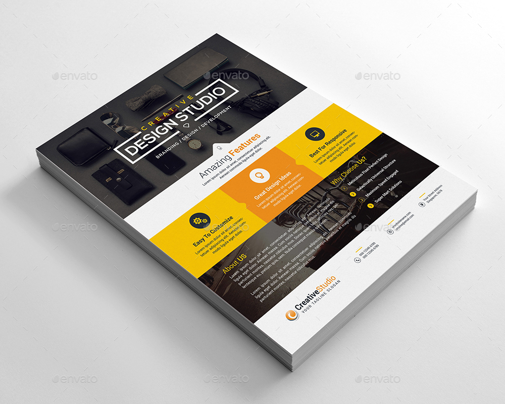 Web Design Flyer by generousart | GraphicRiver