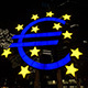 Euro Symbol Frankfurt Germany Night - VideoHive Item for Sale