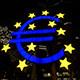 Euro Symbol Frankfurt Germany Night - VideoHive Item for Sale