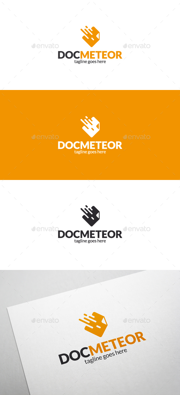 Doc Meteor Logo - Objects Logo Templates