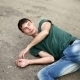 Drunk Man Falls To The Ground From An Overdose Of - VideoHive Item for Sale