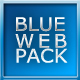 Blue Web Module Pack - GraphicRiver Item for Sale