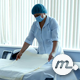 Doctor Preparing Delivery Room before Child Birth - VideoHive Item for Sale