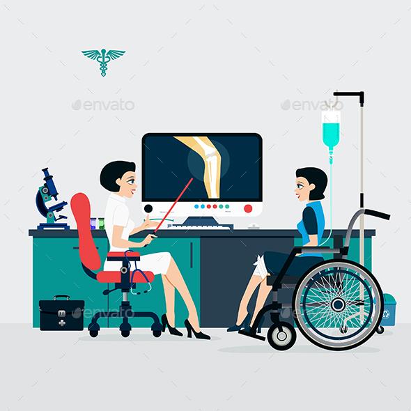 Bone Doctor - Health/Medicine Conceptual