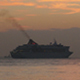 Cruise Ship Sunset - VideoHive Item for Sale