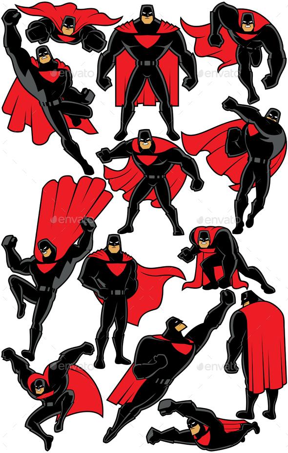 Superhero Set 2 - People Characters