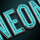 Neon Letters - GraphicRiver Item for Sale