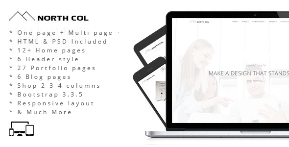 North Col – MultiPurpose Drupal Theme