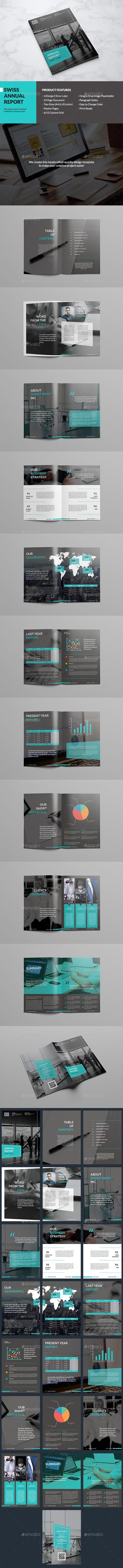Swiss Annual Report - Corporate Brochures