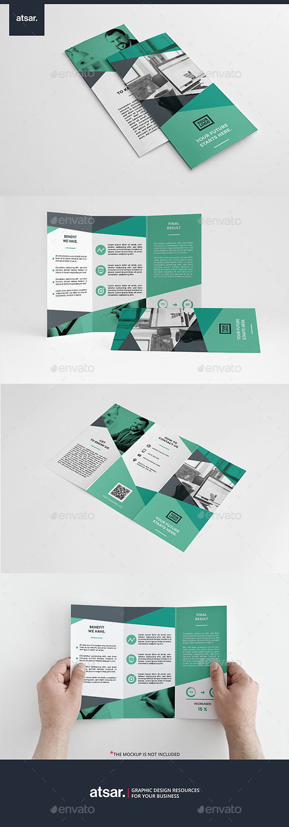 Toscia Trifold Brochure - Corporate Brochures