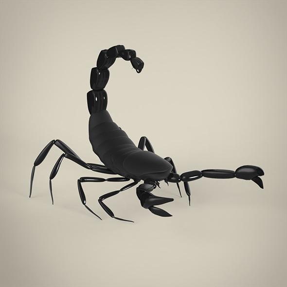 Scorpio - 3DOcean Item for Sale