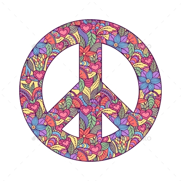 Peace Symbol - Decorative Symbols Decorative