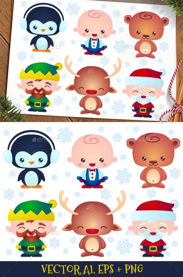 Christmas Baby Characters - Miscellaneous Characters