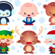 Christmas Baby Characters - GraphicRiver Item for Sale