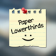 Paper Lowerthirds - VideoHive Item for Sale