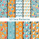 Set of Ten Sea Patterns - GraphicRiver Item for Sale