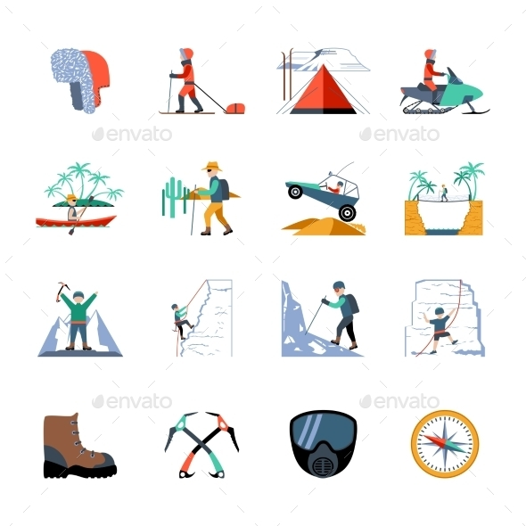 Expedition Icons Set - Miscellaneous Icons