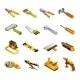 Tools Isometric Icons
