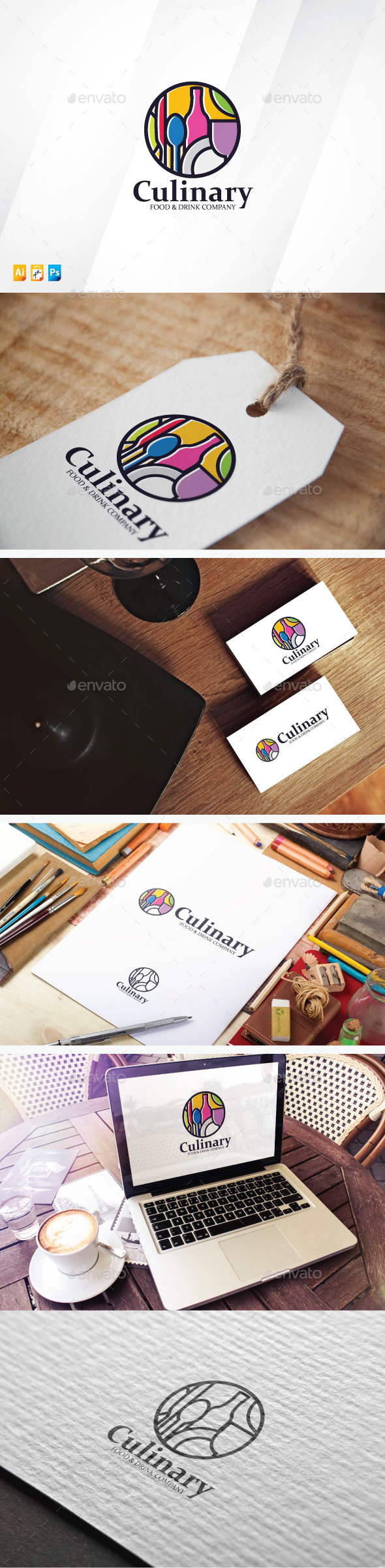 Culinary - Food Logo Templates