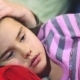 Daughter Lying On Mother's Chest - VideoHive Item for Sale