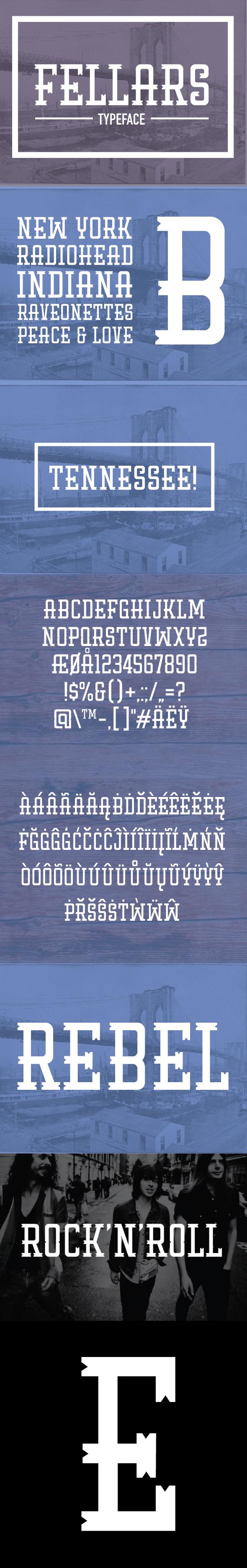 Fellars - Serif Fonts