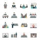 Public Speaking Icons Set - GraphicRiver Item for Sale