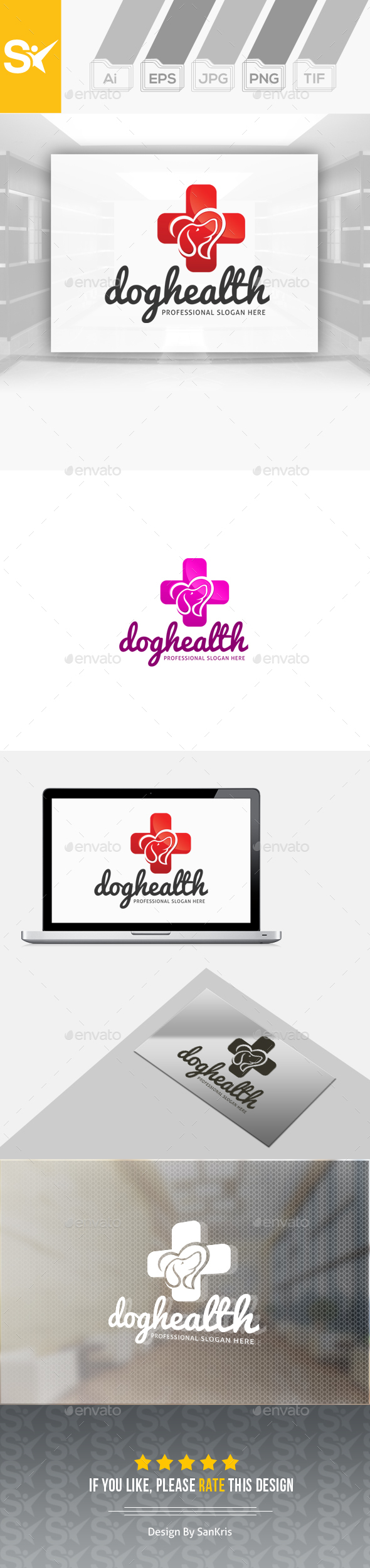 Dog Health Logo - Animals Logo Templates