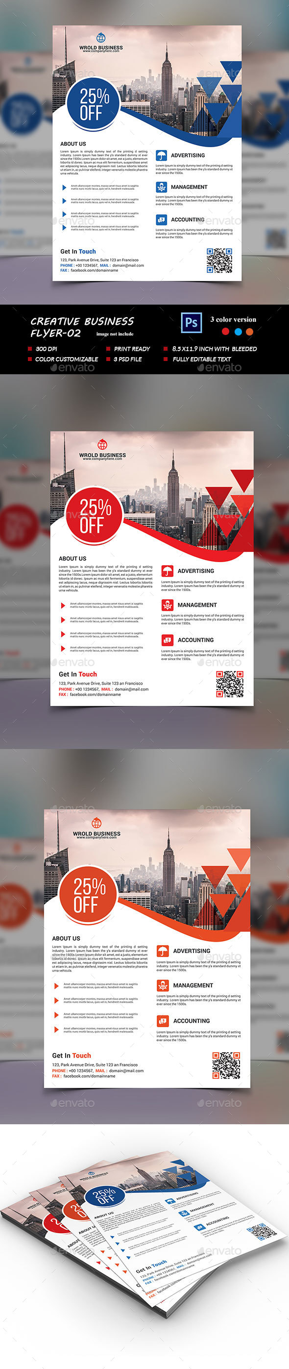 Creative  Flyer Template-02 - Corporate Flyers