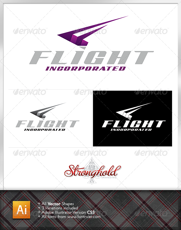Flight Incorporated Logo - Letters Logo Templates