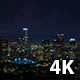 Downtown Los Angeles Night Tunderstorm - VideoHive Item for Sale