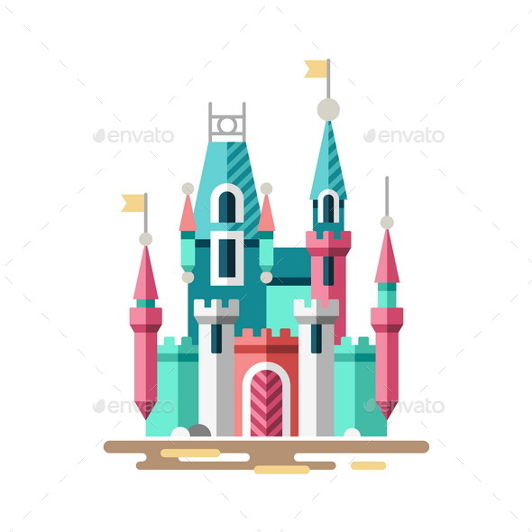 Fabulous Palace Magical Castle - Buildings Objects