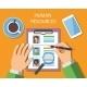 Human Resources Management Concept - GraphicRiver Item for Sale