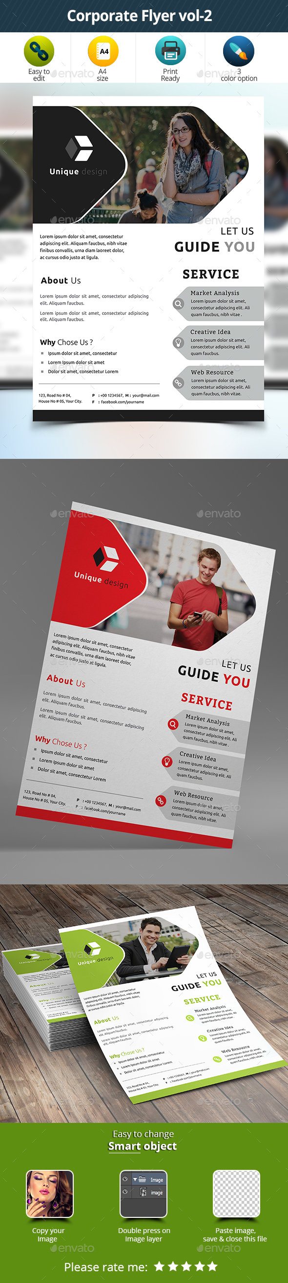 Corporate Flyer vol-2 - Corporate Flyers