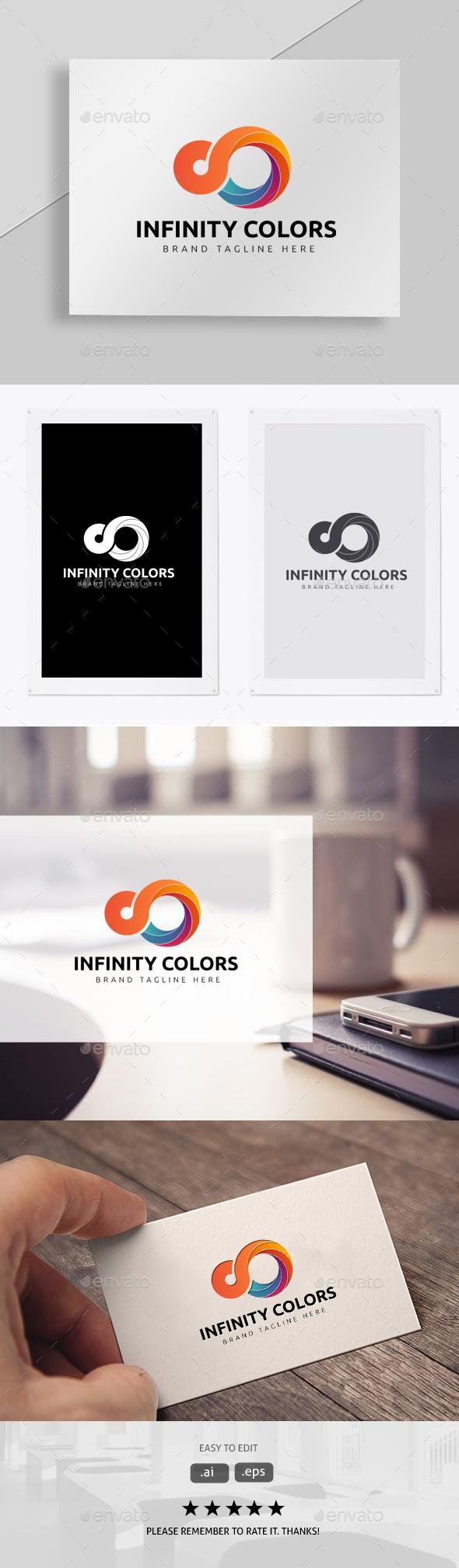 Infinity Colors - Symbols Logo Templates