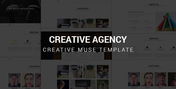 Creative Agency – Muse Template