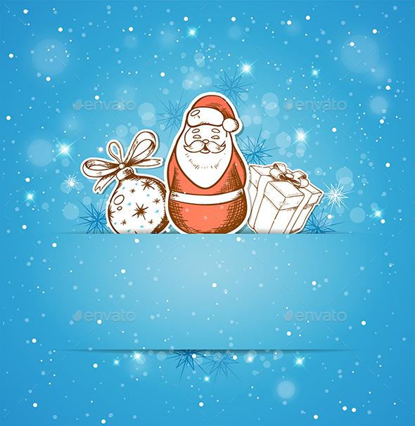 Decoration Gift and Santa Claus - Christmas Seasons/Holidays