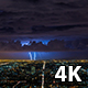 Los Angeles and Lightning Bolts - VideoHive Item for Sale