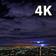 Los Angeles and Lightning Bolts Wide Night - VideoHive Item for Sale