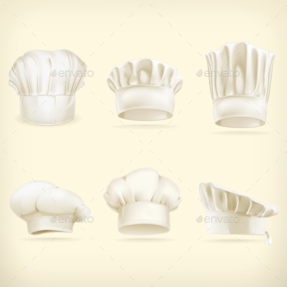Chef Hats - Man-made Objects Objects